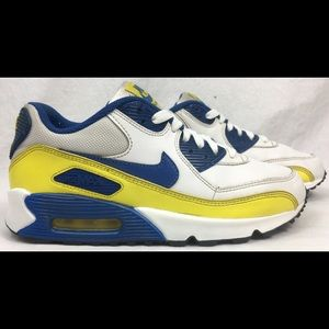 Nike Air Max 90 GS Golden State Warriors Color Way